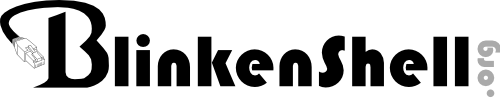Blinkenshell Logotype - Free UNIX Shell Accounts